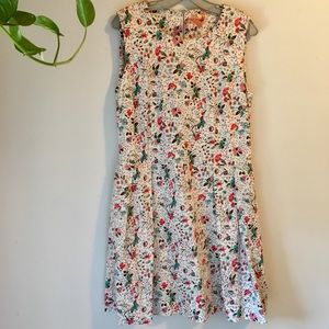 ✨NEW✨Gap Cotton Sateen Floral Dress, with pockets